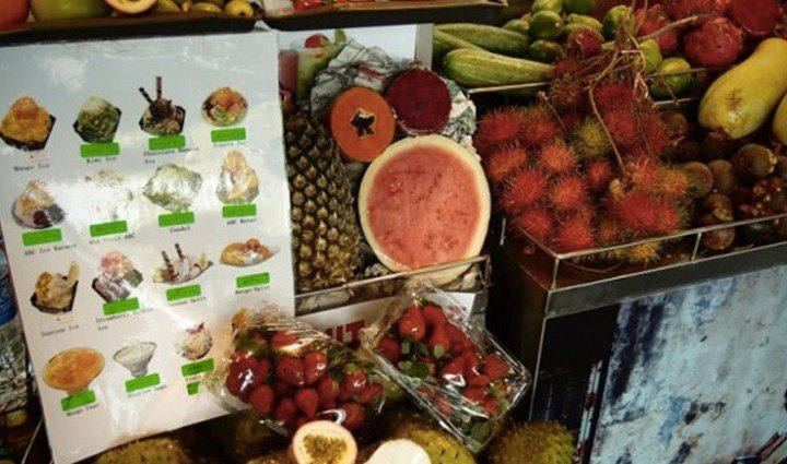 Experience the best tropical fruits of Bali
