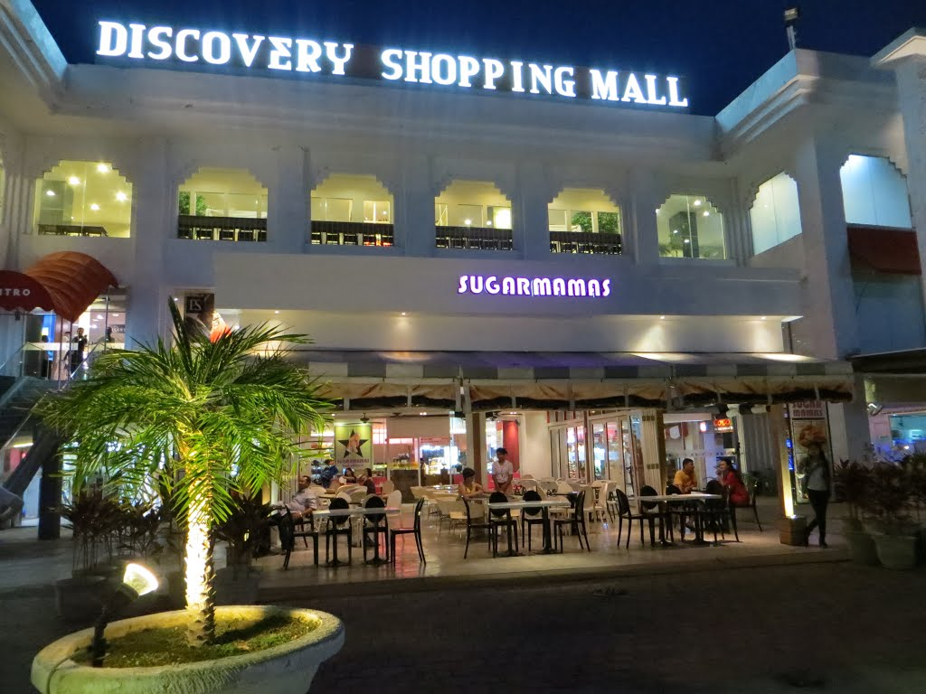 Discovery Shopping Mall Entrance