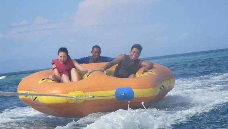 Water Sports action at Benoa Tirta Harum, Nusa Dua