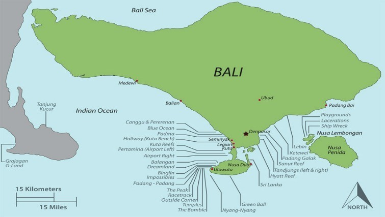Weather in Bali
