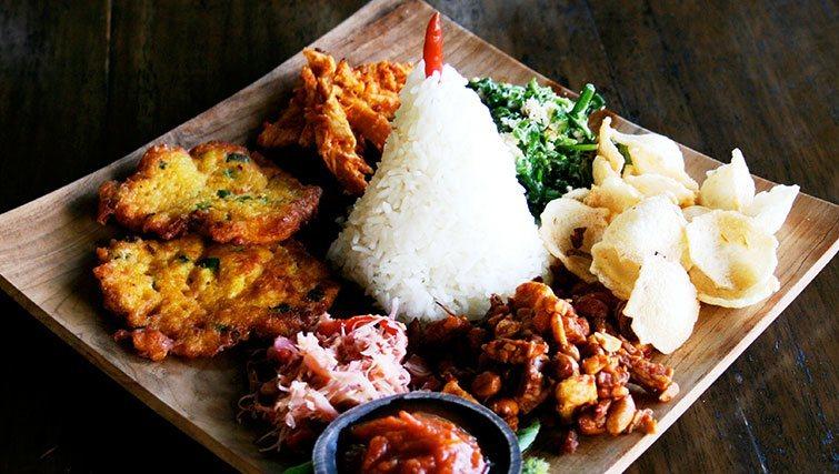 """""""Eco-Meals"""" at Sarinbuana's restaurant"""