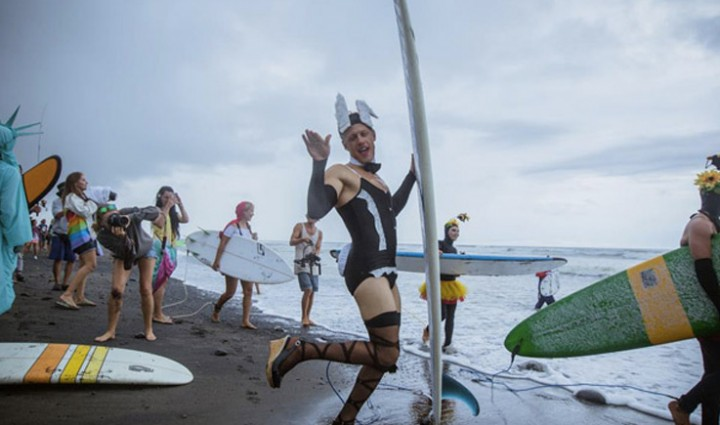 Surf-Jam 2014: The Russians hit the Bali waves