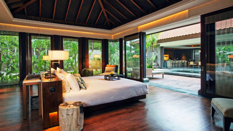 Private pool villa at Fairmont Sanur Bali