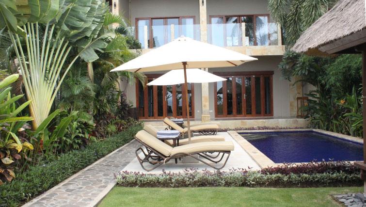 Private villas at The Lovina in North Bali