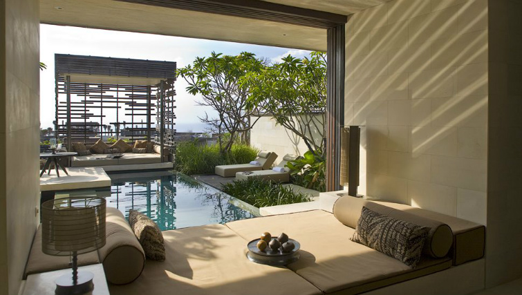 contemporary design in the villas at Alila Uluwatu