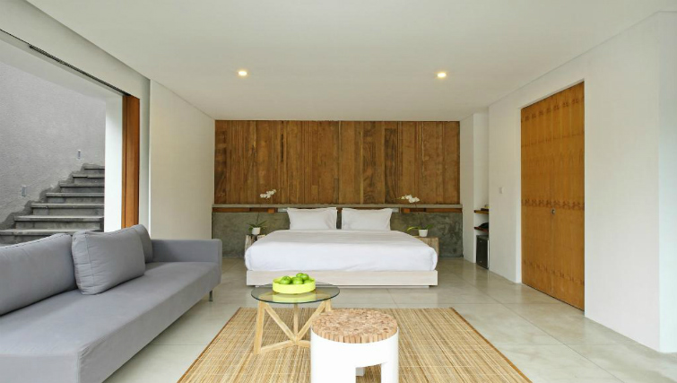 Modern design in Aria Villas Ubud