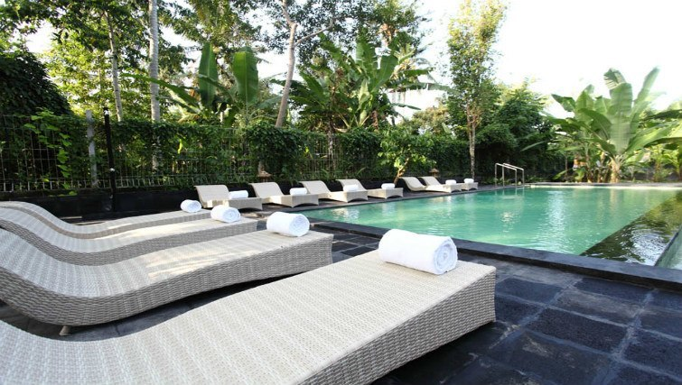 Pool at Ubad Retreat in Ubud