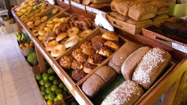 Freshly baked bread courtesy of Slow Food experts, Bali Buda