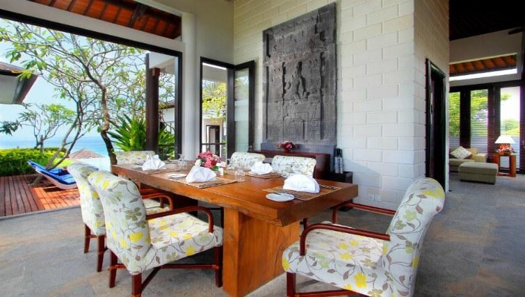 Sophisticated, modern furnishing inside Villas OWOW