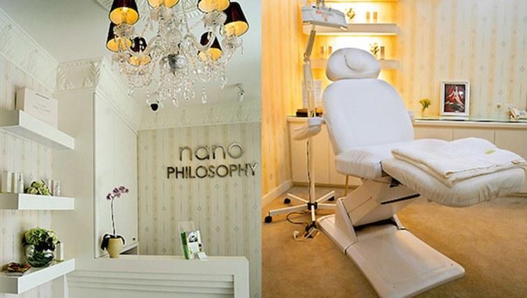 Reception and treatment room at Nano Philosophy Bali