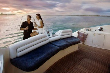 Super yachting in Bali
