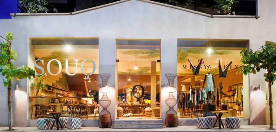 The SOUQ shopfront on Sunset Road