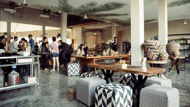 The eclectic interior of SOUQ in Seminyak