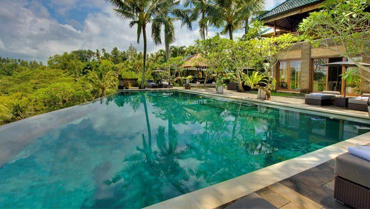 Poolside at Villa Bukit Naga